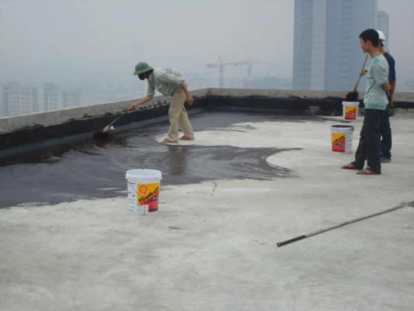 Chống thấm sàn mái nhà